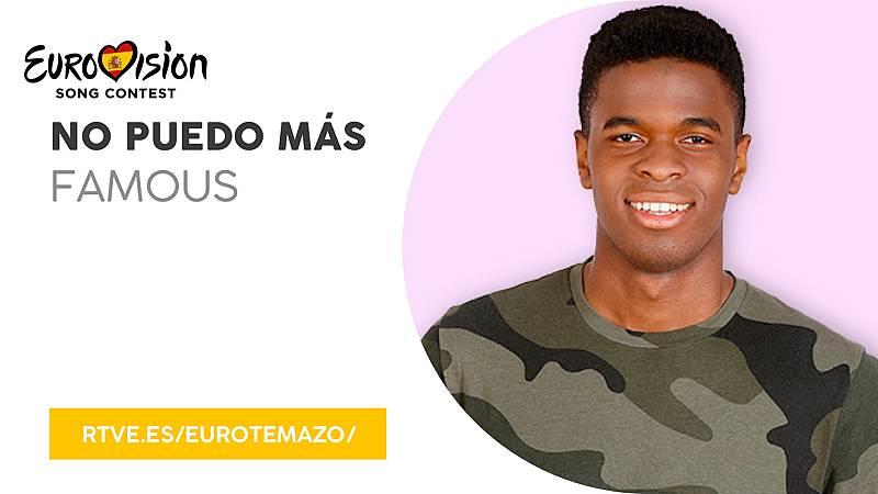 """Eurovisión 2019 - Eurotemazo: versión final de """"No puedo más"""", cantada por Famous"""