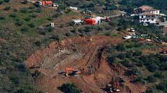 Los equipos de rescate de Julen se centran en la perforación de dos túneles verticales paralelos al pozo