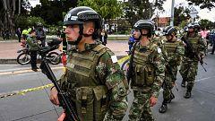 Al menos nueve muertos por la explosión de un coche bomba en la Escuela de Policía de Bogotá