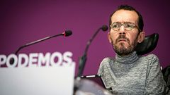 Pablo Echenique invita a Errejón a dimitir