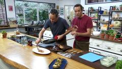 Torres en la cocina - Patatas rellenas de fondue y entrecot
