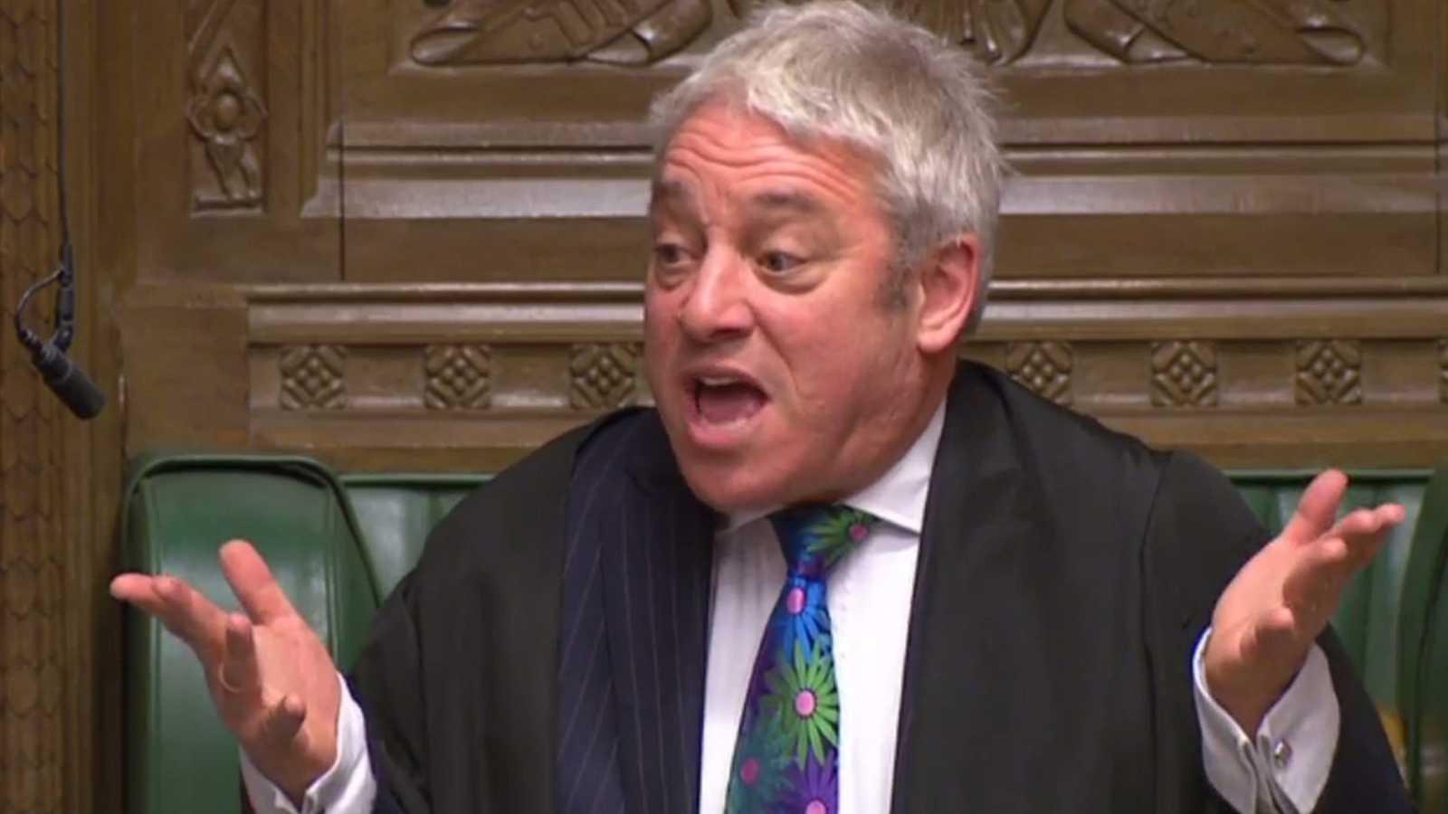 John Bercow, el hombre que pone orden en el Parlamento británico