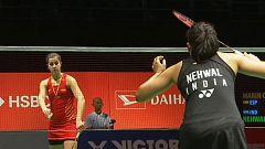 Bádminton - 'Malaysia Masters 2019' Semifinal individual femenina C. Marín - S. Nehwal