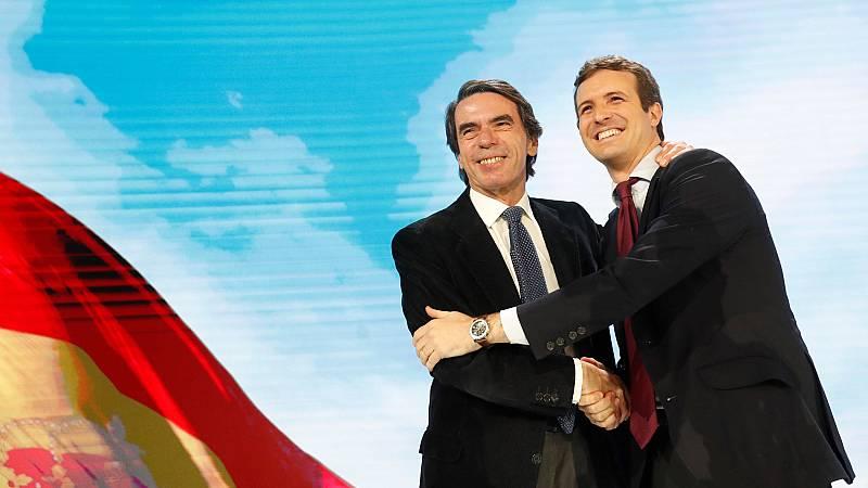 """Aznar: """"Estamos lejos de las modas políticas estridentes, por eso estamos lejos del griterío de los alborotadores"""""""