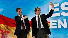 Aznar vuelve a pedir el voto para el PP, tras su distanciamiento con la gestión de Rajoy