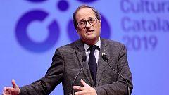 """Torra: """"Debemos acusar a España por el juicio, que es una farsa contra el independentismo""""."""
