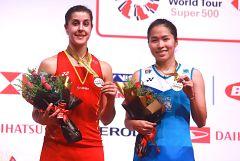 Carolina Marín cae en la final de Malasia ante Intanon