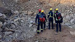 La Brigada de Salvamento Minero participa en el rescate del pequeño Julen atrapado en un pozo de Totalán (Málaga)
