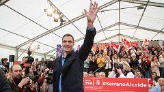 """Sánchez sitúa al PSOE en la moderación frente a una derecha """"decadente"""""""