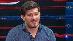 Juan Espino, primer español en ganar un combate en la UFC