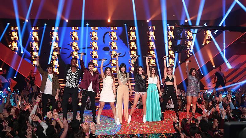 """Eurovisión 2019 - 'OT 2018' canta """"Toy"""""""