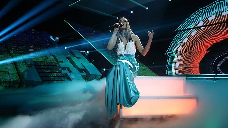 """Eurovisión 2019 - Sabela canta """"Hoy soñaré"""" en la Gala OT Eurovisión"""