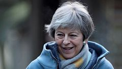 May intenta recabar apoyos para su plan B del 'Brexit'