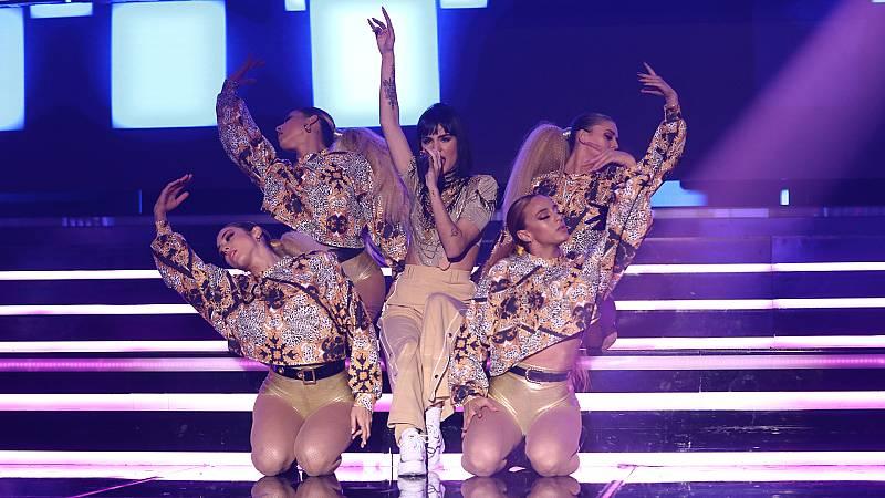 """Eurovisión 2019 - Natalia canta """"La clave"""" en la Gala OT Eurovisión"""