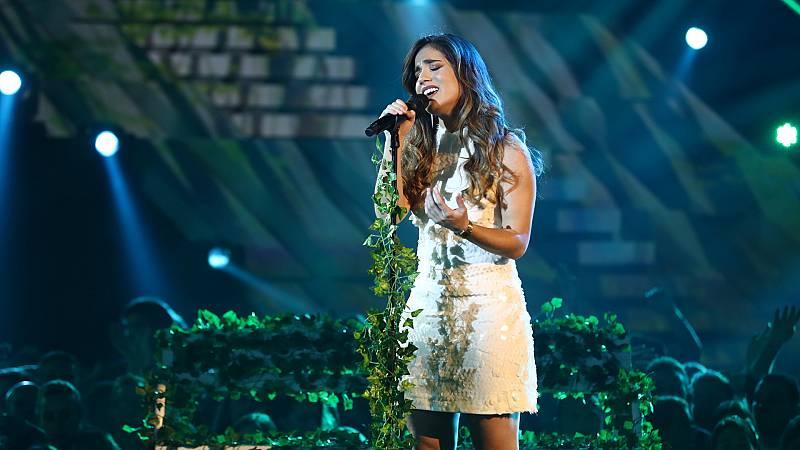 """Eurovisión 2019 - Julia canta """"Qué quieres que haga"""" en la Gala OT Eurovisión"""