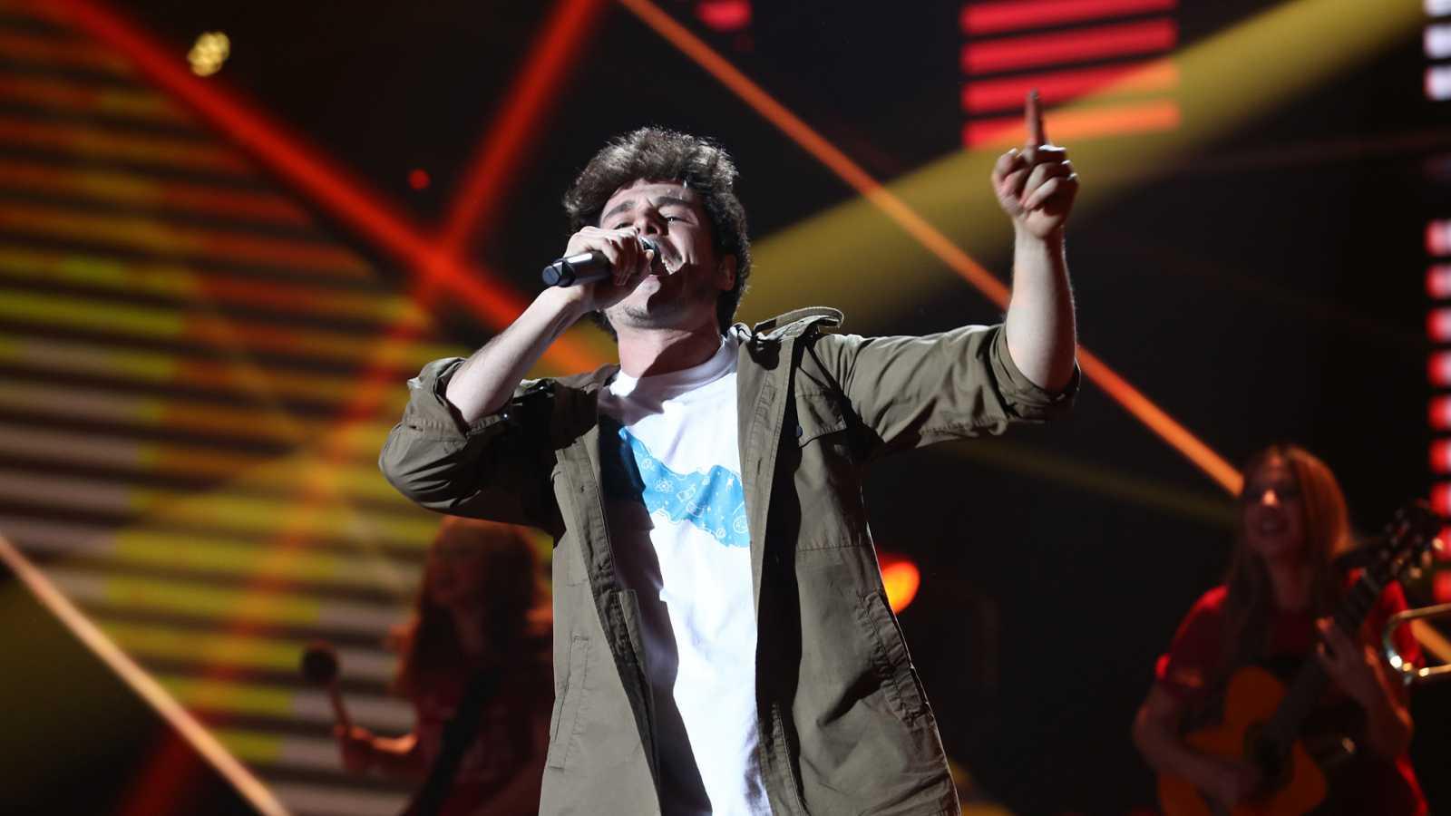 "Eurovisión 2019 - Miki canta ""La venda"" en la Gala OT Eurovisión"