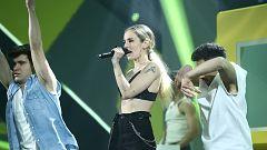 """Eurovisión 2019 - María canta """"Muérdeme"""" en la Gala OT Eurovisión"""