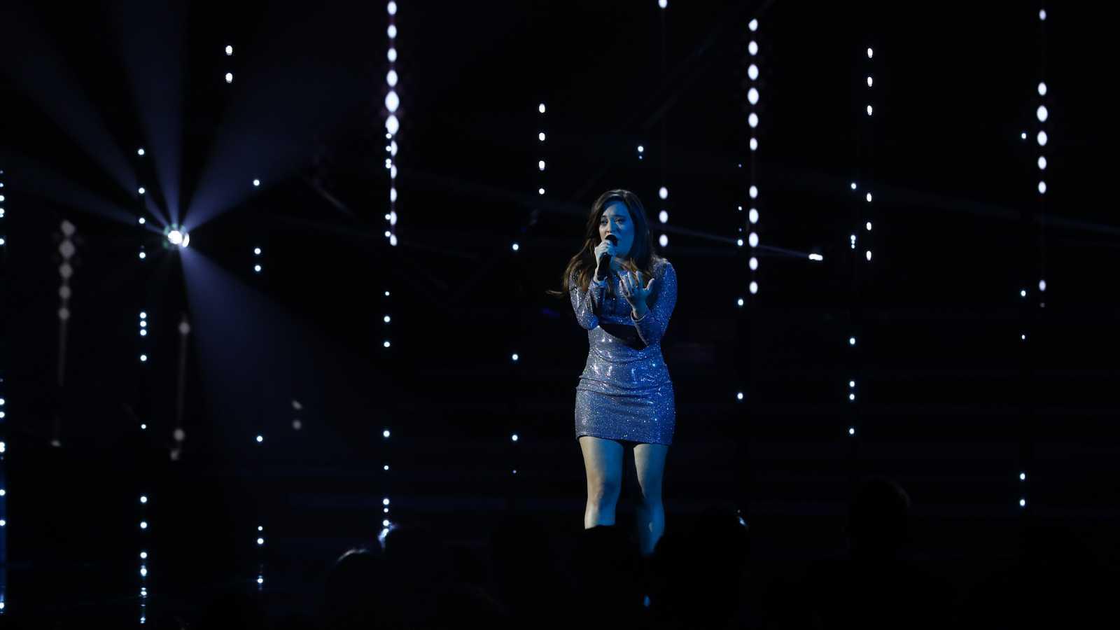 """Eurovisión 2019 - Noelia canta """"Hoy vuelvo a reír otra vez"""" en la Gala OT Eurovisión"""