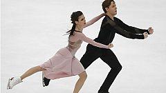 Sara Hurtado y Kirill Jalyavin, a reafirmarse como pareja en el Europeo de Patinaje