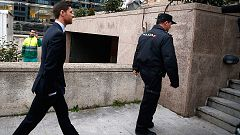 Xabi Alonso llega a la Audiencia para ser juzgado por fraude fiscal