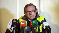 """El equipo de rescate de Julen encontró """"discontinuidades"""" al introducir """"inmediatamente después"""" los tubos"""