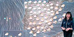 El temporal provoca alertas por diferentes factores en 39 provincias
