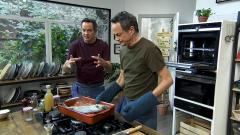 Torres en la cocina - Canelones de puerro y dorada a la marsellesa