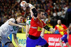 España se jugará el preolímpico ante Egipto tras perder ante Alemania (31-30)