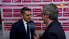 """Valverde: """"Las ausencias no son excusa"""""""