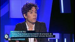 Para Todos La 2 -  Entrevista a Helena Puig, sobre procesos de paz y movimientos sociales