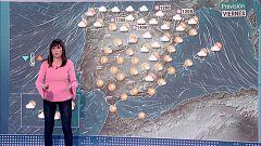 Lluvias debiles en el norte peninsular, pero seguira soplando fuerte viento