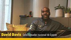"""David Davis: """"No se nos pasaba por la cabeza el pelear por la séptima plaza"""""""