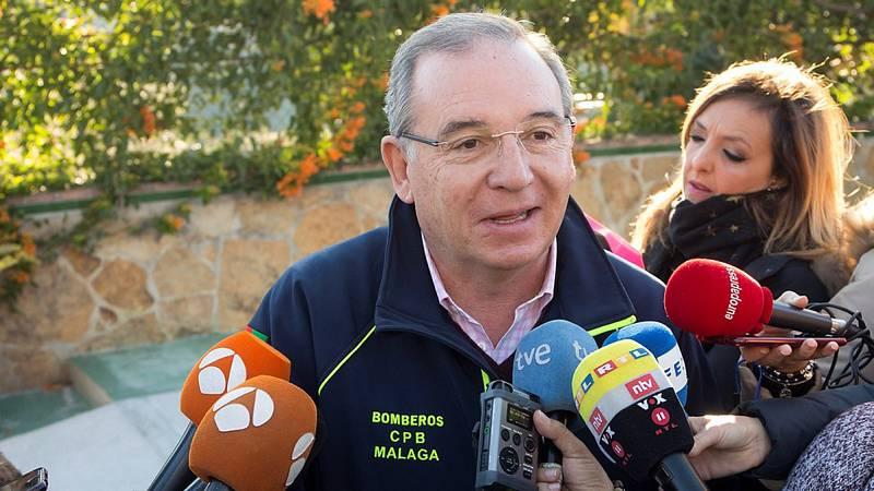 """Francisco Delgado, presidente del Consorcio de Bomberos de Málaga: """"No se han escatimado medios"""""""