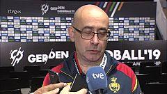 """Jordi Ribera: """"Nos ha podido la presión en la primera parte"""""""