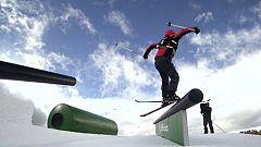 Esquí Freestyle - Copa del Mundo 2018/2019. Finales Slopestyle, prueba Seiseralm (Italia)