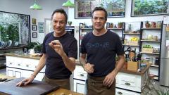 Torres en la cocina - Albóndigas de garbanzos y natillas