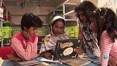 Página Dos - El reportaje - Bibliotecas en campos de refugiados del Sahara