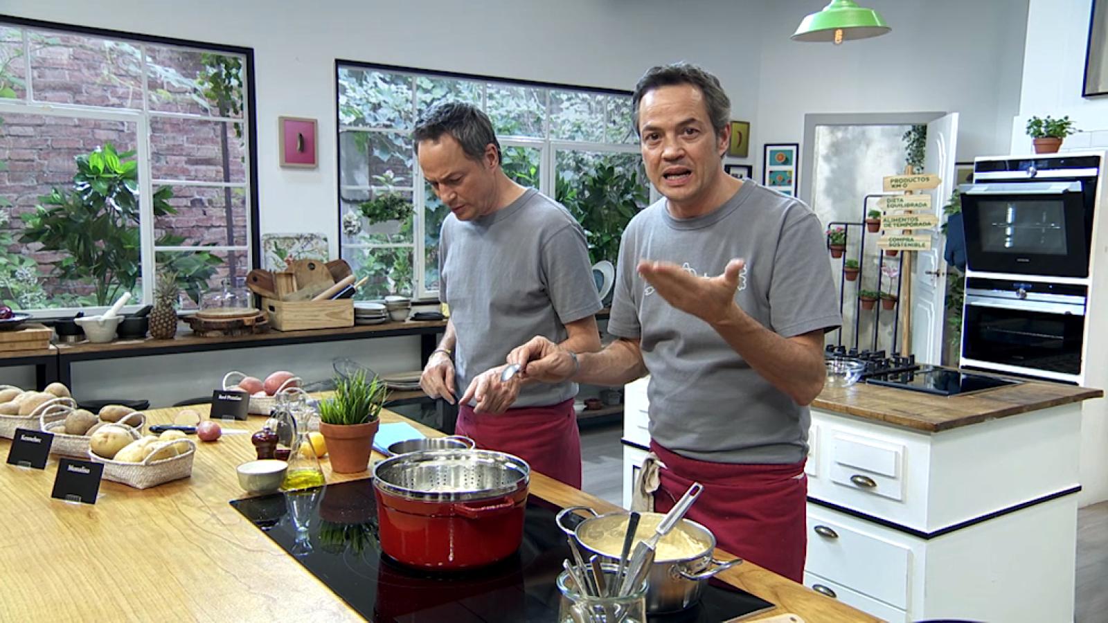 Torres en la cocina - Arroz de jabalí y bacalao con coliflor - ver ahora