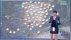 Este jueves habrá lluvias en gran parte de la Península y temperaturas en ascenso