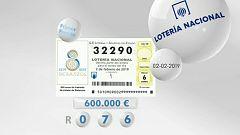 Lotería viajera - 02/02/19