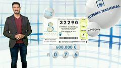 Lotería Nacional - 02/02/19