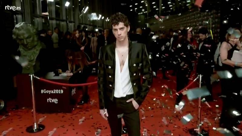 Goya 2019 - Eduardo Casanova en la cámara glamur