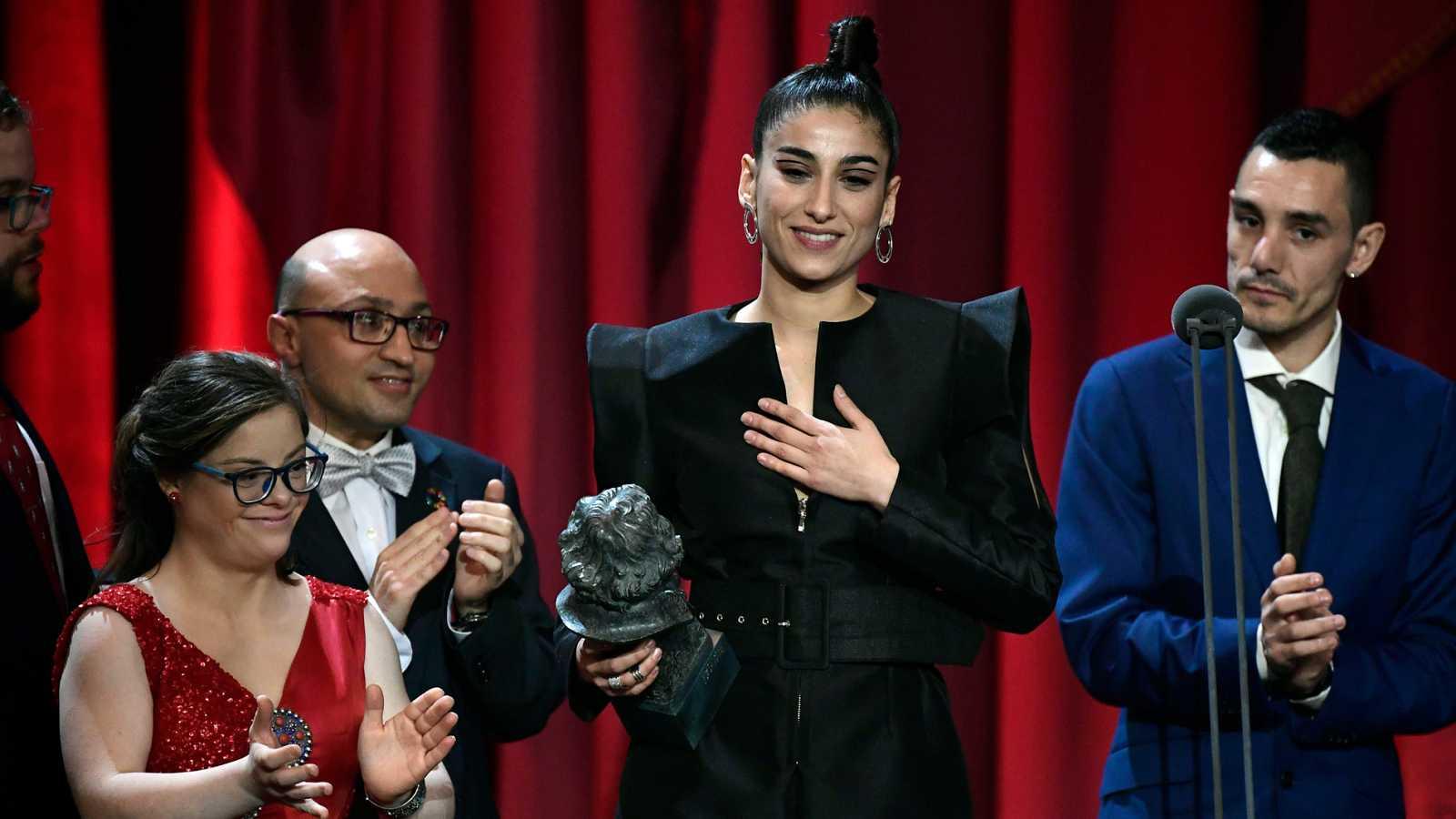 Carolina Yuste logra el Goya como mejor actriz de reparto por 'Carmen y Lola'