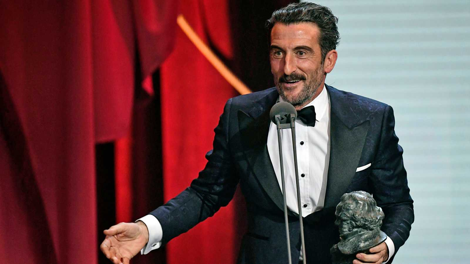 Luis Zahera, Goya al mejor actor de reparto por 'El reino', da las gracias a su 'Julieta' particular
