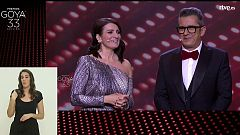 33 Edición Premios Goya en lengua de signos (Parte 1 de 2)