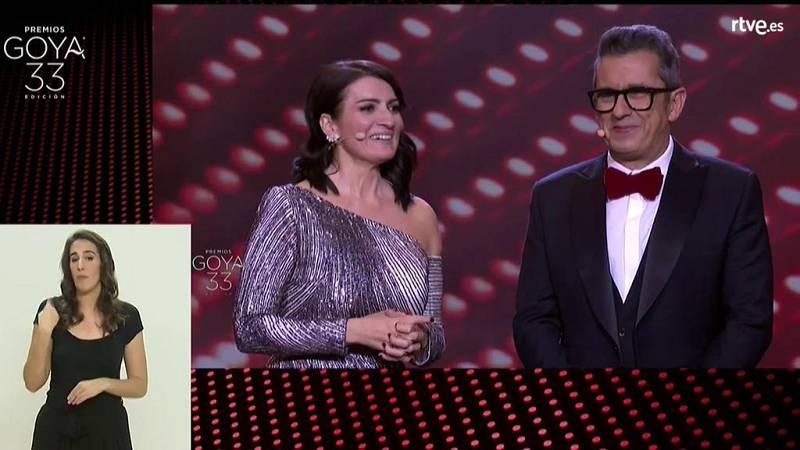 33 Edición Premios Goya en lengua de signos (Parte 1 de 2) - Ver ahora