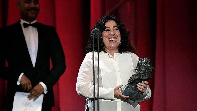 Arantxa Etxevarría, premio a la Mejor dirección novel por 'Carmen y Lola'