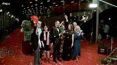 Goya 2019 - Equipo de 'El silencio de otros', mejor película documental, en la cámara glamur