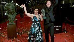 Goya 2019 - Equipo de 'Roma', mejor película iberoamericana, en la cámara glamur
