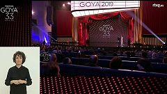33 Edición Premios Goya en lengua de signos (Parte 2 de 2)